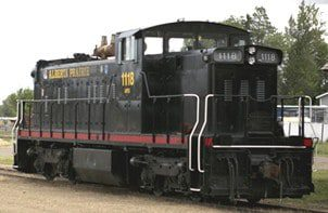 AP 1118 Diesel Road Locomotive