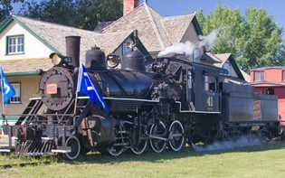 AP 41 Steam Locomotive